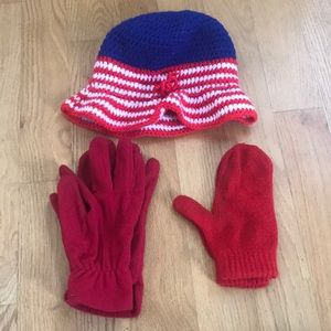 Accessories - Americana Hat & Glove Winter Accessory Set